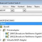 Broadcom Advanced Control Suite Teams