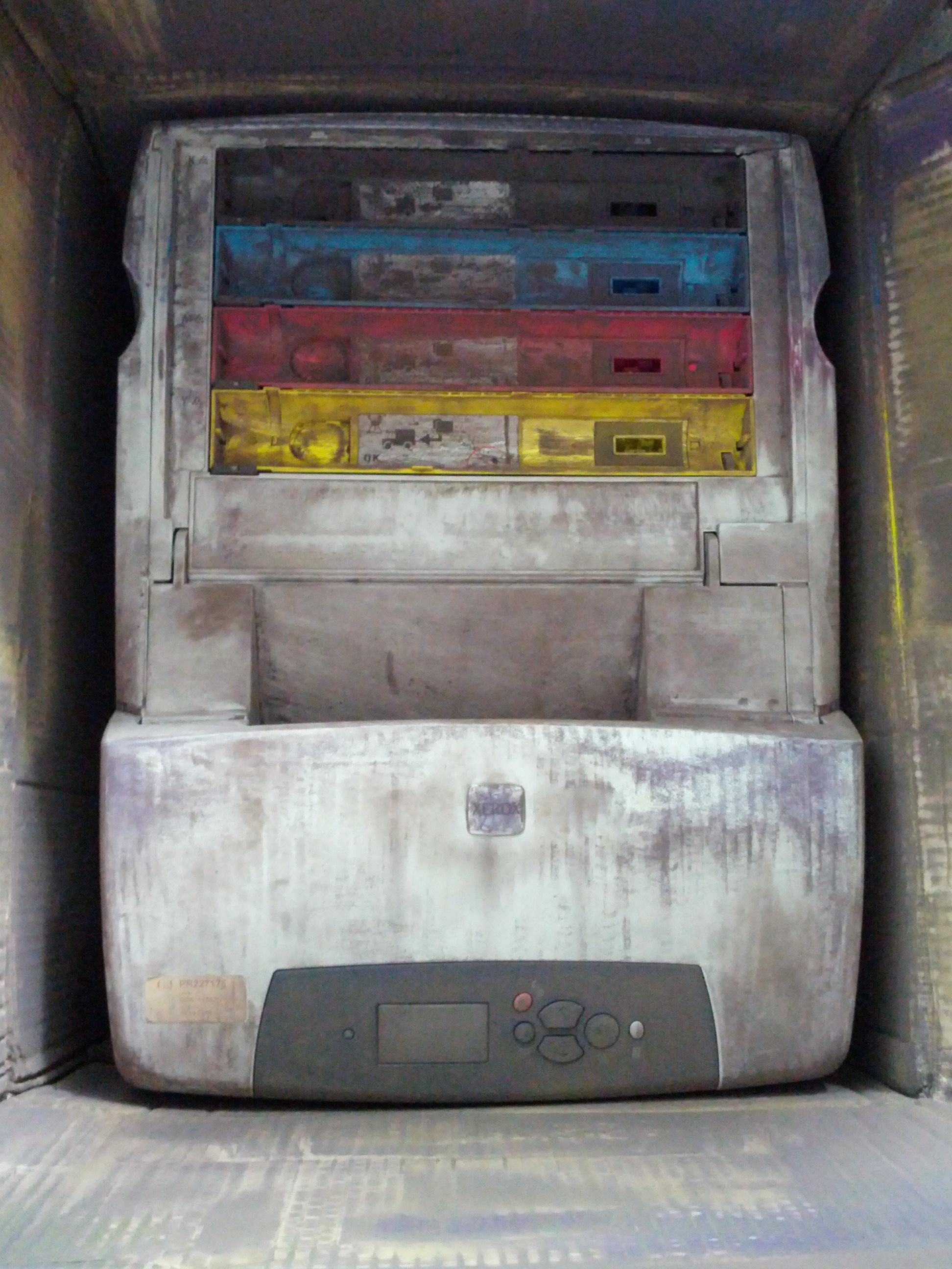 Drucker mit Toner nach Postversand