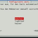 Cacti - Installation - Webserver