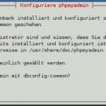 PHPMyAdmin - Installation - dbconfig