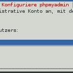 PHPMyAdmin - Installation - Passwort