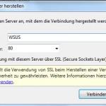 WSUS 3.0 Start