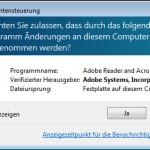 Adobe Reader - Einstellngen Allgemein - PDF Programm