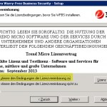 Trend Micro Worry-Free Install