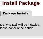 pfSense - Package vnstat Confirm