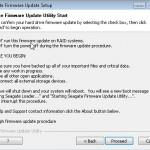 Seagate Firmwareupdate