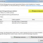 Windows7 Defrag GUI