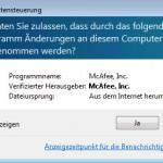 McAfee SiteAdvisor Installation