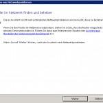 SBS2011 Beheben von Netzwerkproblemen Zertifikat
