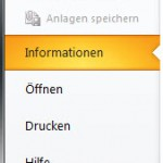 Outlook2010 - Optionen