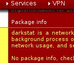 pfSense Installation von Darkstat