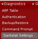 pfSense Darkstat Konfiguration