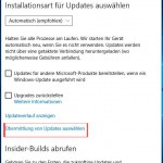 Windows10 Erweiterte Optionen