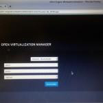 oVirt Live - WebGUI Login