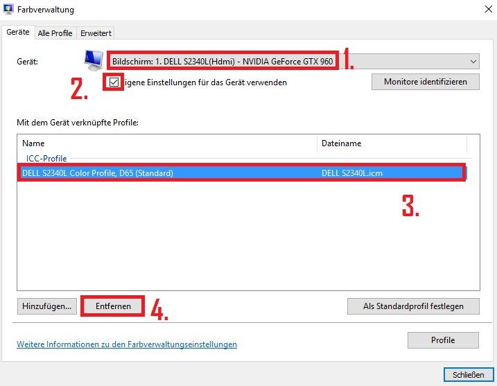 Windows 10 - Gelbstich in der Windows Fotoanzeige ...
