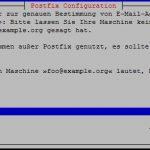 Postfix Mail Name