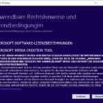 Windows 10 Media Creation Tool Step 1