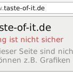 HTTPS graues Schloss Warndreieck