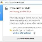 HTTPS gemischter Inhalt