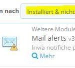 PrestaShop Modul Mail Alerts