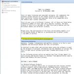 Tine 2.0 Installation - Lizenz Datenschutz
