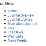 Joomla Chromes Horizontal