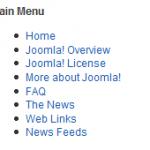 Joomla Chromes Horizontal