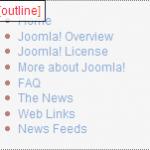 Joomla Chromes Outline
