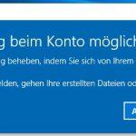 Windows 10 keine Anmeldung