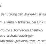 Nextcloud Öffentlich Hochladen