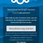 Nextcloud 12.0.3 WebUpdate