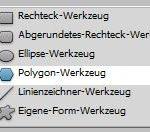 Photoshop Polygon-Werkzeug