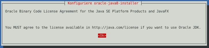 Debian Stretch – Oracle Java 8 und OpenJDK installieren