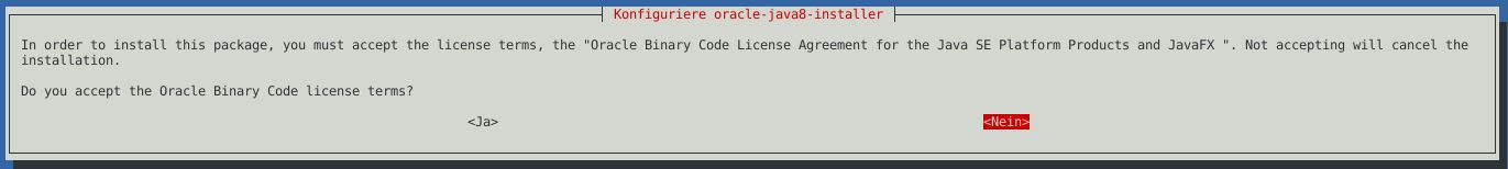 Debian oracle java jdk