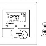 HomeMatic Funk- Wandthermostat Anlernen