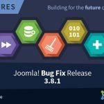 Joomla 3.8.1 Update