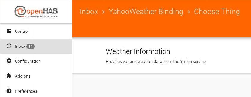 openHAB 2 – Binding und Widget für Infos zum Wetter – TASTE-OF-IT