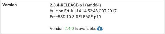 pfSense Open-Source Firewall – 2 4 0 veröffentlicht – TASTE