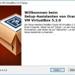 VirtualBox 5.2 Installation Step1