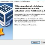 VirtualBox Gast Additions Step1