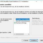 VirtualBox Gast Additions Step3