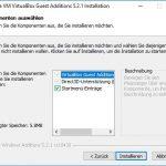 VirtualBox Gast Additions Step3