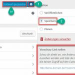WordPress 4.9 Design mit Feedback