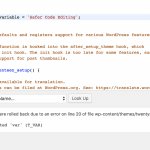 WordPress 4.9 Code Sandbox