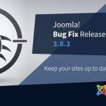 Joomla Bugfix Release 3.8.3