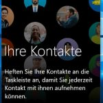 Microsoft Windows 10 1709 People App