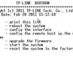 TP-Link Switch Factory Reset Terminal Reset