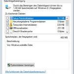 Windows Datenträgerbereinigung