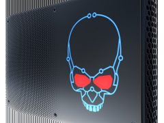 Intel NUCi7HVK Skull On