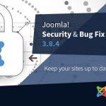 Joomla Upadte 3.8.4